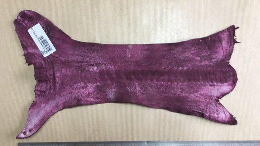 morceau peau de patte d'autruche bordeaux mat maroquinerie accessoire exotique luxe Cuirenstock
