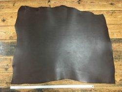collet de vache pur végétal brun moka accessoire cuir en stock
