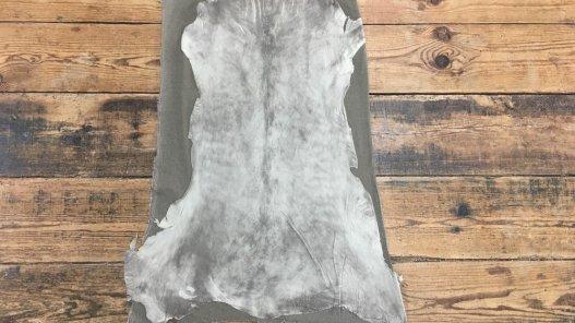 peau de cuir d'agneau velours stretch beige sable cuirenstock