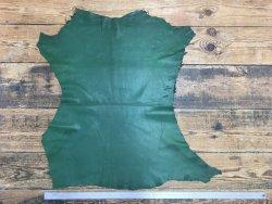 peau de cuir de mouton vert émeraude cuirenstock