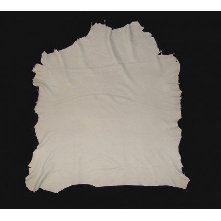 Agneau nappa blanc cassé nubuck
