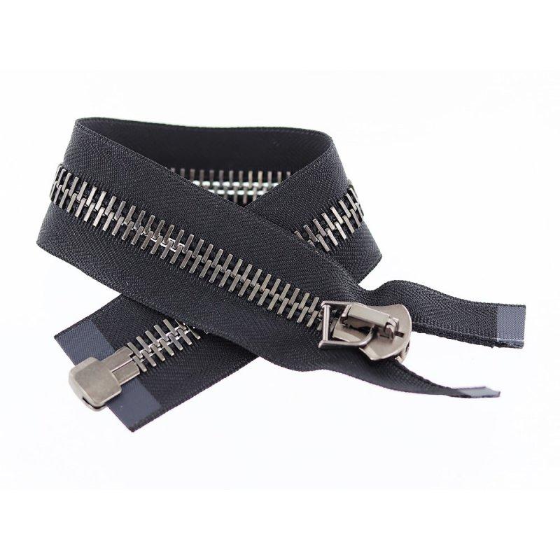 Carte Bancaire Zip.Fermeture A Glissiere Noir Ykk Excella Zip Metal Separable 35cm