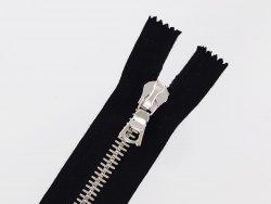 fermeture-glissiere-noire-zip-metal-argente-riri-mayer-m8-20cm-cuir-cuir en stock-non-divisible-1