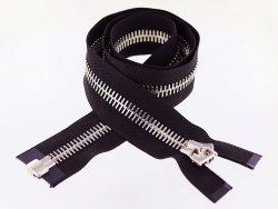 grosse-fermeture-eclair-divisible-zip-metal-argente-noire-88cm-excella- cuirenstock