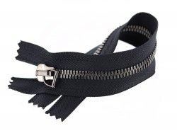 zip-couture-noir-metal-argente-vieilli-ykk-23cm-cuirenstock-3