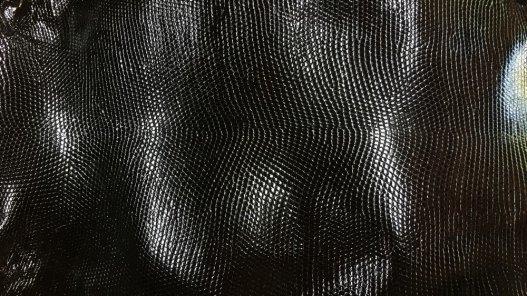 peau de cuir de lézard noir accessoire bijoux Cuirenstock