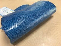 peau de cuir de lézard bleu turquoise accessoire bijoux cuir en stock