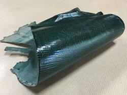 peau de cuir de lézard vert accessoire bijoux cuir en stock