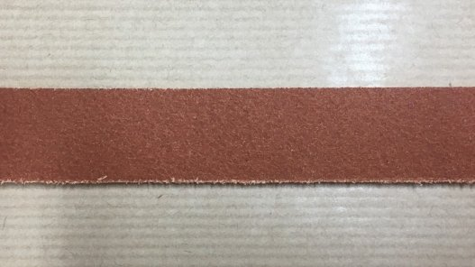 bande sangle de cuir tannage pur végétal cognac brun cuirenstock