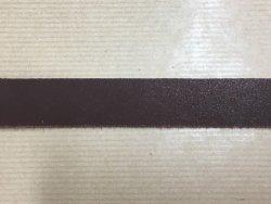 bande sangle de cuir tannage pur végétal marron cuirenstock