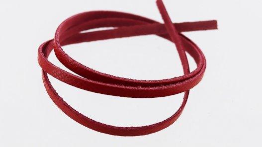 lanière en cuir rouge top qualité Cuir en Stock