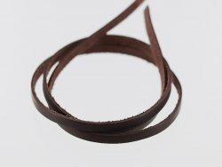 lanière lacet en cuir de vache marron brun vente par lot