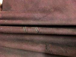 peau de cuir d'agneau velours stretch bordeaux cuirenstock