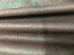peau de cuir d'agneau stretch ciré bordeaux cuirenstock