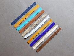 lot 10 lanières en cuir cuirenstock cuir souple maroquinerie et bijoux