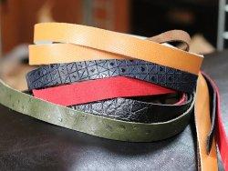 lot 6 bandes de cuir cuirenstock