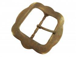 grande boucle ceinture laiton massif simple ardillon cuirenstock