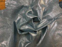 peau de chèvre velours pailleté bleu ciel cuir en stock