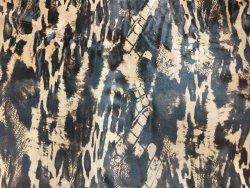 Peau de veau poil fantaisie cuir en stock