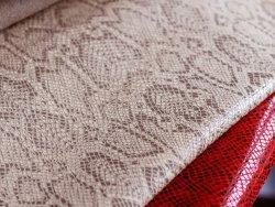 peau de cuir de vache grain serpent fantaisie beige tendance Cuirenstock