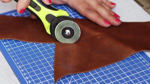 cutter rond rotatif circulaire qualité pro box débutant cuirenstock