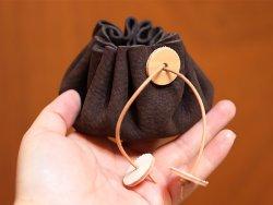Kit DIY bourse en cuir style médiéval cuirenstock