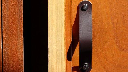 grande poignée en cuir de qualité double croupon cuirenstock idées déco DIY