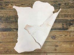 peau de cuir végétal agneau basane standard naturel Cuir en Stock