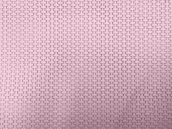 Morceau de cuir effet tressé rose poudré cuir en stock