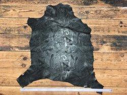 peau de cuir de mouton grain sovietico noir cuirenstock