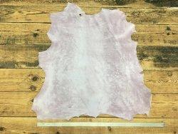 peau de mouton nubuck parme cuir en stock