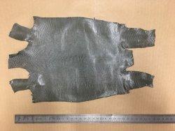 peau de cuir de lézard gris perle cuirenstock