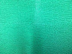 peau entière de cuir de requin vert cuir en stock