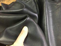 peau de cuir de veau noir maroquinerie ameublement accessoire Cuirenstock