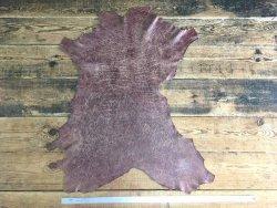 peau de cuir agneau vieilli antique vêtement accessoire Cuir en stock