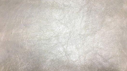 peau de cuir de chèvre craquelé blanc nacré Cuirenstock