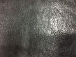 peau d'agneau fripé noir naturel cuirenstock