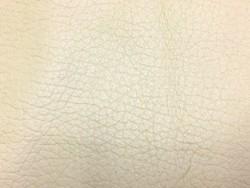 Grand morceau de cuir de vache gros grain buffle beige maroquinerie Cuir en stock