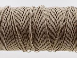 Fil de lin naturel tressé couture main maroquinerie sellerie Cuir ne stock