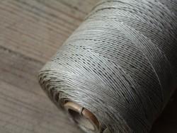 Fil de lin naturel tressé couture main Cuir en Stock