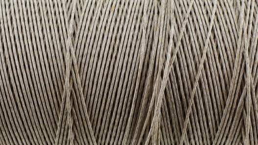Bobine de fil de lin naturel tressé couture main maroquinerie sellerie Cuir en stock