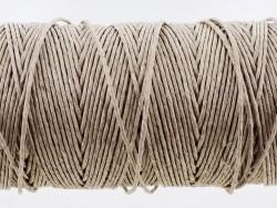 Bobine de fil de lin naturel torsadé qualité pro couture main Cuir en Stock