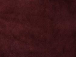 Morceau de veau velours bordeaux prêt à l'emploi Cuir en Stock