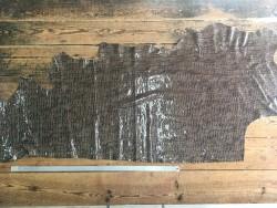 peau de cuir de vache imitation crocodile naturel taupe maroquinerie ameublement accessoire cuirenstock