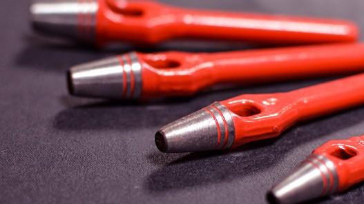 Assortiment emportes pièces  ronds manche arche lame acier - Cuir en Stock