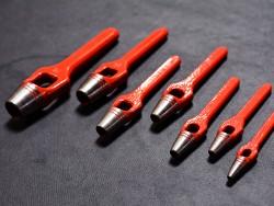 Emporte pièce à frapper rond travail du cuir maroquinerie Cuir en Stock