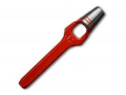 Emporte pièce à frapper rond outil travail du cuir maroquinerie Cuir en Stock