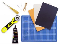 Kit d'outils pour travailler le cuir - Débutant - Cuir en Stock