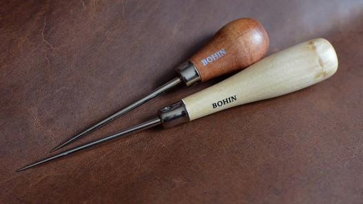 Alènes Bohin fabrication française - outils pour le cuir - Cuirenstock