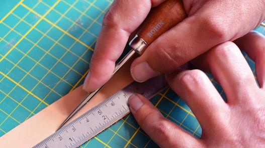 Outils pour l e travail du cuir - couture main - alène ronde Bohin - Cuirenstock